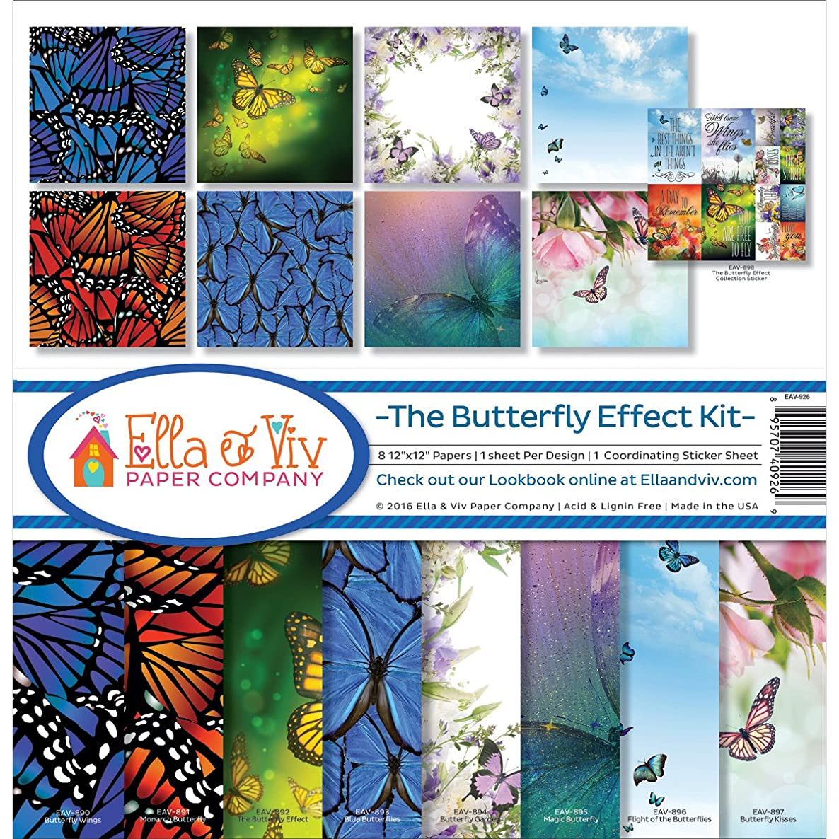 Ella & Viv by Reminisce Ella and Viv The Butterfly Effect Kit