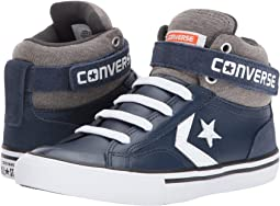Converse Kids - Pro Blaze Strap Leather and Suede - Hi (Little Kid/Big Kid)
