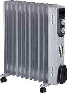 comprar comparacion Jata R111 Radiador de aceite con 11 elementos caloríficos, 2500 W, Acero Inoxidable, Blanco