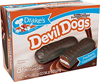 fudge covered devil dogs