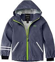 Wantdo Boys Girls Waterproof Hooded Rain Jackets Fleece Lined Autumn Windbreaker