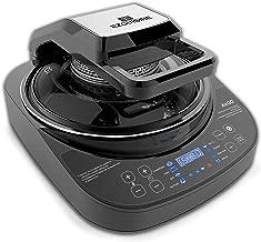 AirGO AP360 5-in-1 multifunction programmable cooker: Crepe Maker, Mini-Oven, Indoor Grill, Air Fryer, Robotic Stir Fryer