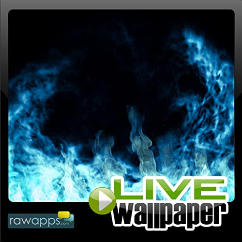Blue Flames Live Wallpaper