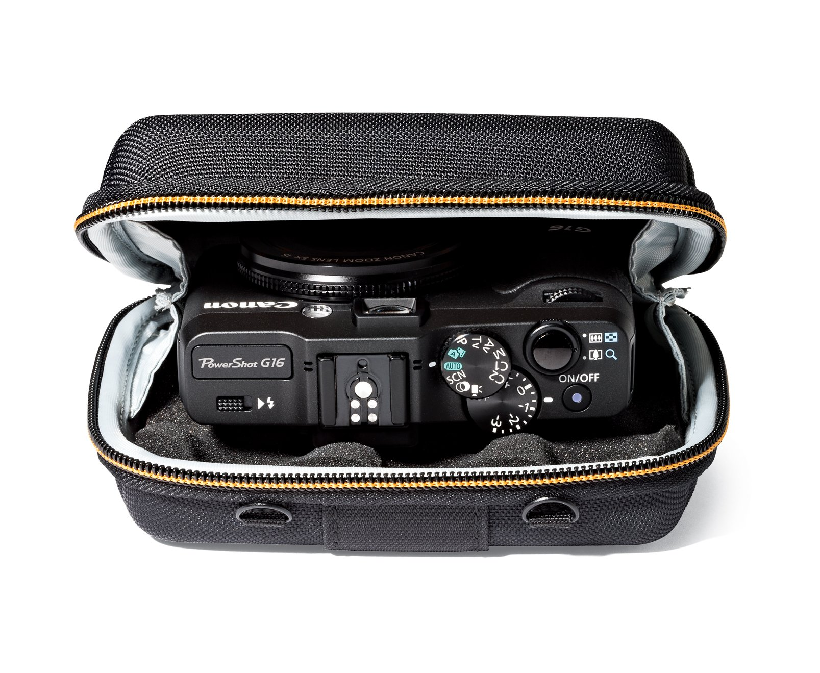 Lowepro Santiago 30 II Camera Bag Hard Shell Case for Your Pint and Shoot GoPro/® Or Action Video Camera