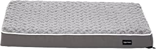 AmazonBasics Ergonomic Foam Pet Dog Bed - 30 x 20 Inches, Grey