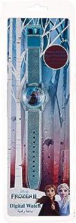 ساعة ديزني ميني الرقمية للبنات بسوار من السيليكون باضاءة وامضة ملونة - TRHA4133