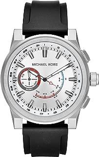 Men's Silvertone Rhodium Strap Watch
