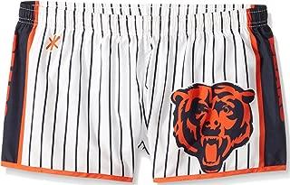 Chicago Bears Womens Pinstripe Polyester Short Medium