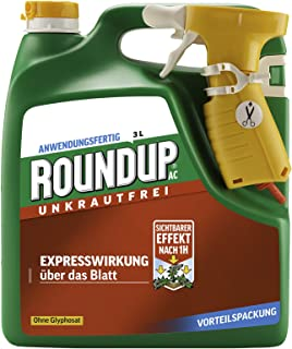 Roundup AC Koncentrat 3208 Środek do Zwalczania Chwastów, 3 L