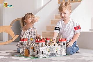 VIGA Wooden Castle Play