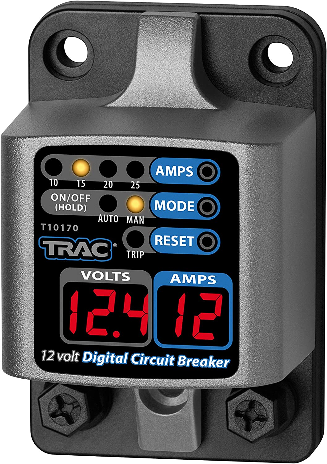 Trac Recommended Outdoors Digital Circuit Breaker Miami Mall - Amp 10-25 Display with