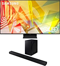 """$1975 » Samsung QN55Q90TA 55"""" 4K Ultra High Definition HDR QLED Smart TV with a Samsung HW-T650 Bluetooth Soundbar with Dolby Audio Wireless Subwoofer (2020)"""