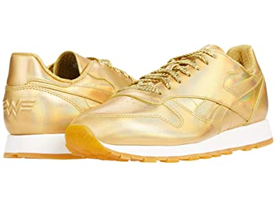Reebok Lifestyle Classic Leather x Wonder Woman 1984 (Gold Metallic) Shoes