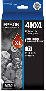 Epson 410XL Photo Black Ink Cartridge, High Capacity (T410XL120)