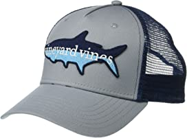 76983e81a8114 Vineyard Vines Leave It Behind Patch Trucker Hat at Zappos.com