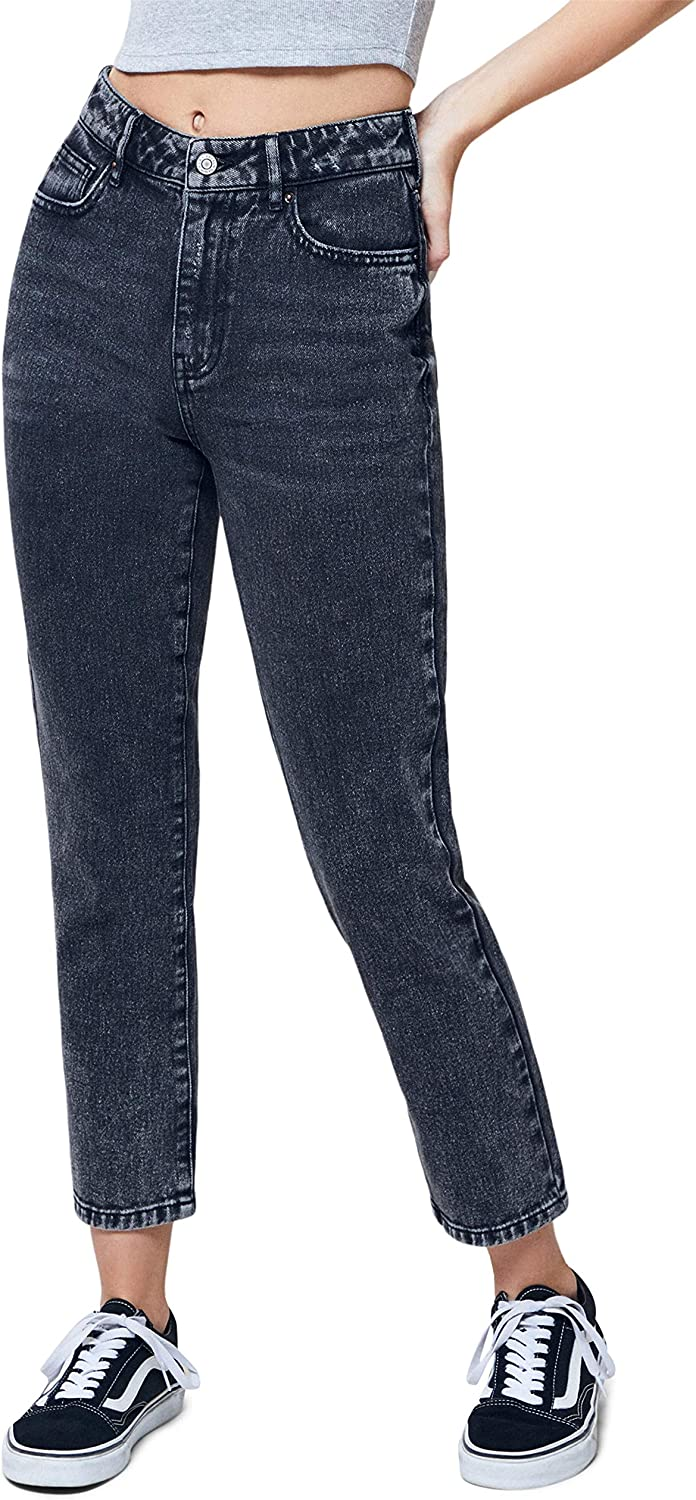 PacSun Womens Light Mom Jeans