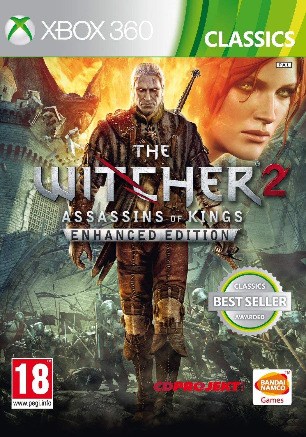 Max 48% OFF The Witcher 2 Recommended Assassins of Kings Edition: Xbo Classics Enhanced