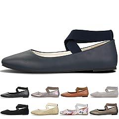 295b782788c Comfortable Classic Flats Women s Shoes Black Walking Ballet .