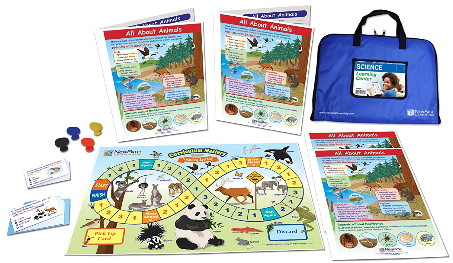 All About Animals Learning Center Game - Grades 1-2