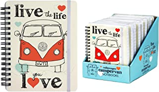 VW Volkswagen Note books - Live the life you love