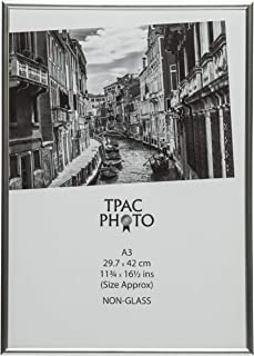 The Photo Album Company 30 x 42 cm A3 Photo Frame - Silver