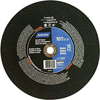 - Norton Cutoff Blade - 10in.dia, 6,115 RPM, Model# 076607-89390-1