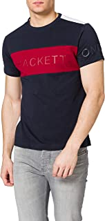 Hackett London Fine JSY PNL Multi Camiseta para Hombre