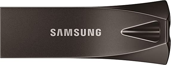 SAMSUNG BAR Plus 128GB - 400MB/s USB 3.1 Flash Drive, Titan Gray (MUF-128BE4/AM)