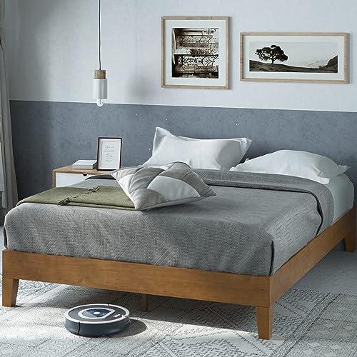 Zinus Alexis Deluxe Wood Twin Platform Bed   Highlyrecommend