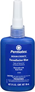 مثبت للبراغي متوسط القوة من بيرماتيكس لون ازرق موديل 24200، 6 مل