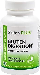 Sponsored Ad - Eat E-Z Gluten+ (60 Vegan Capsules) - Gluten Digestion, Leaky Gut, DPP VI, Proteases, Non-GMO, Plant Based