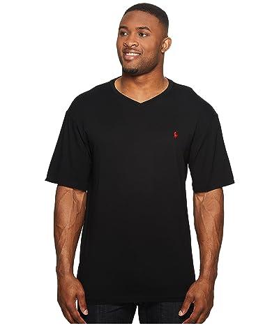Polo Ralph Lauren Big & Tall Big and Tall Classic V-Neck T-Shirt (RL Black) Men