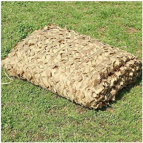 Filet De Prougeection Solaire pour Le Jardin, Filet De Camouflage Filet D'ombrage Auvents marron Filet De Camouflage pour Tentes Résistantes Au Feu Aux Flammes (Taille   4  5M(13.1  16.4ft))