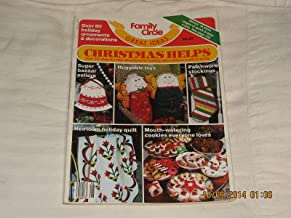 FAMILY CIRCLE GREAT IDEAS MAGAZINE CHRISTMAS HELPS OCTOBER 1985 OVER 313 STEP BY STEP DIRECTIONS FOR HOLIDAY DECORATIONS CRAFTS AND FOODS