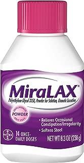 MiraLAX Powder 8.30 oz (Pack of 8)