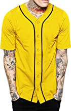 Best baseball jersey black and yellow Reviews