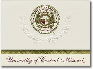 Signature Ankündigungen Universität von CENTRAL Missouri Missouri Missouri Abschluss Ankündigungen, platin Stil, Elite Pack 20 mit Central Missouri State u. Dichtung Folie B0793NHSJC  Diversifiziertes neues Design 6dab8d