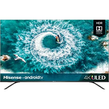 Hisense 50H8F 50-Inch 4K Ultra HD Android Smart ULED TV HDR10 (2019)