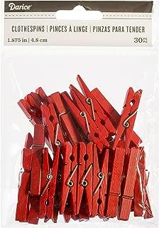 Darice 30029600 Red, Medium Size 1 7/8