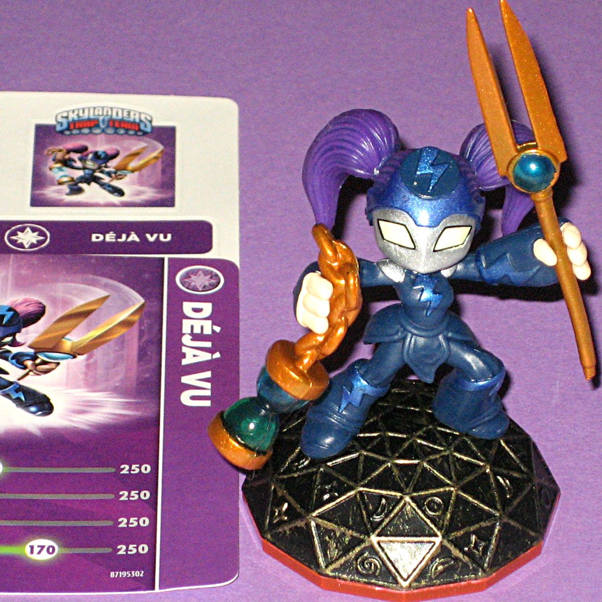 Deja Vu Skylanders Trap Outlet sale feature Team includes Rare code and card Character