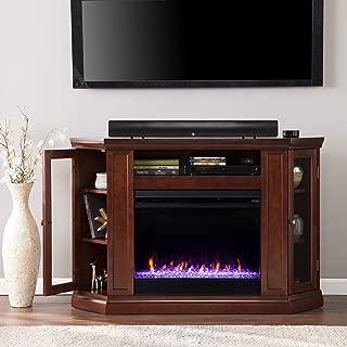 Southern Enterprises Claremont Fireplace, Cherry