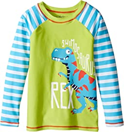 Hatley Kids Roaring T-Rex Rashguard (Toddler/Little Kids/Big Kids)
