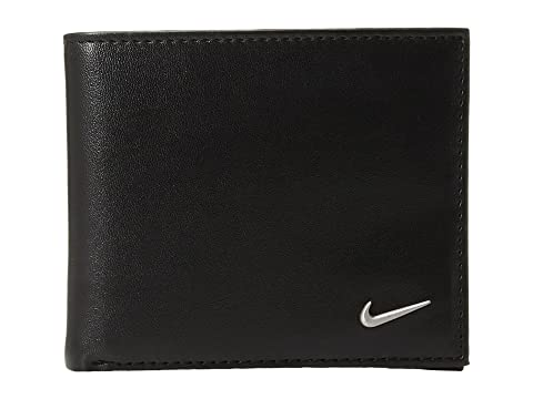 Nike Color Blocked Billfold Wallet Black/Black Sale Low Shipping Factory Price 7LQGb