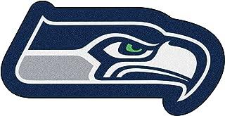 FANMATS 20987 Team Color 3' x 4' NFL - Seattle Seahawks Mascot Mat