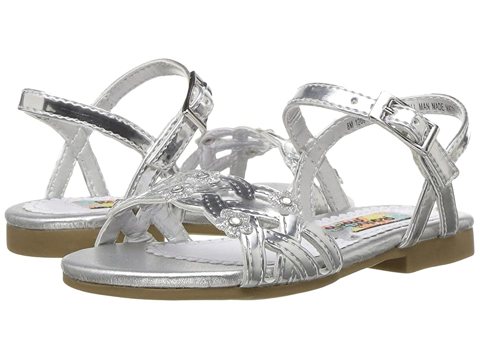 Rachel Kids Lil Julianne (Toddler) (Silver Metallic) Girl