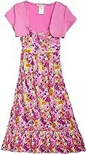 Self Esteem Womens 3fer Cami Dress with Back Key Hole Vest /& Necklace