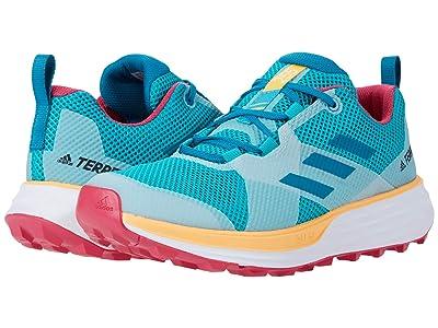 adidas Outdoor Terrex Two (Hi-Res Aqua/Active Teal/Solar Gold) Women
