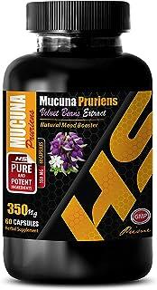 Stress Relief Vitamins Natural - MUCUNA PRURIENS Extract - mucuna pruriens Velvet Bean - 1 Bottle 60 Capsules
