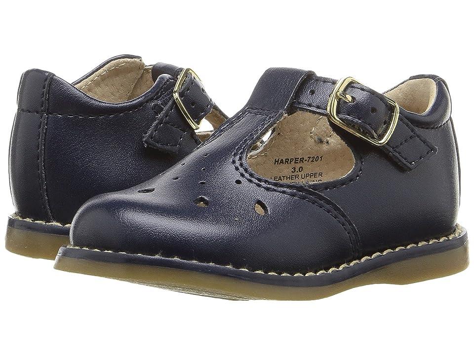 FootMates Harper (Infant/Toddler) (Navy) Girls Shoes