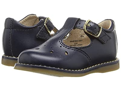 FootMates Harper (Infant/Toddler) (Navy) Girls Shoes